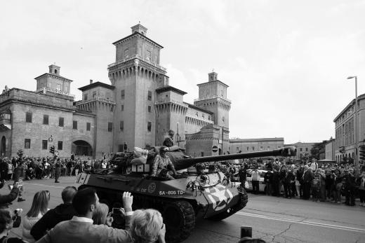 Colonna della Libertà - Ferrara 24 aprile 2017