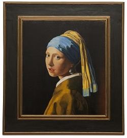The girl with the pearl earring - La ragazza con l'orecchino di perla - cm 47x41