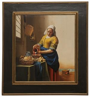 The milkmaid - La lattaia - cm 48x43
