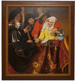 The procuress - La mezzana - cm 142x130