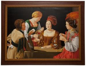 The cheat - Il baro - cm 146x106