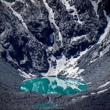 Il Cervino e il ghiacciaio del Gorner dalla cima del Gornergrat