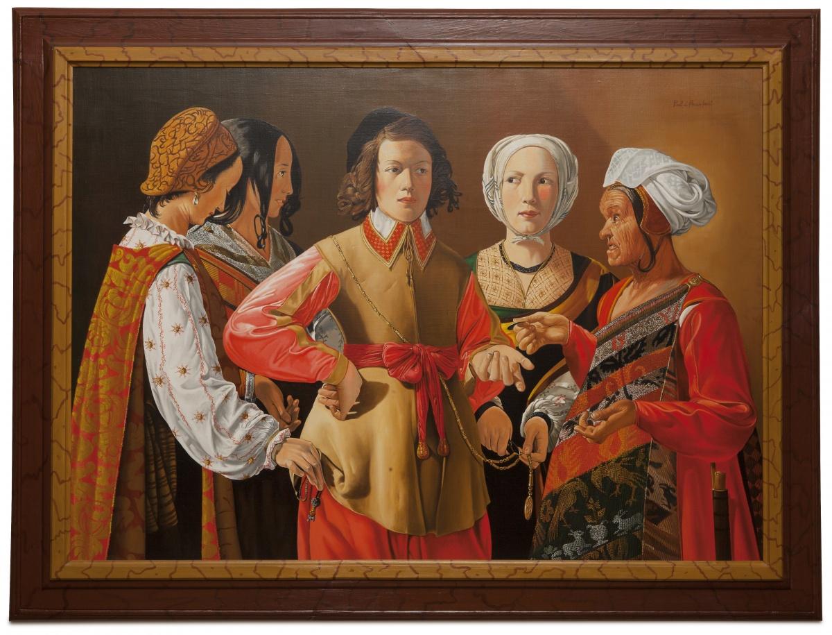 The fortune teller - La buona ventura - cm 145x105