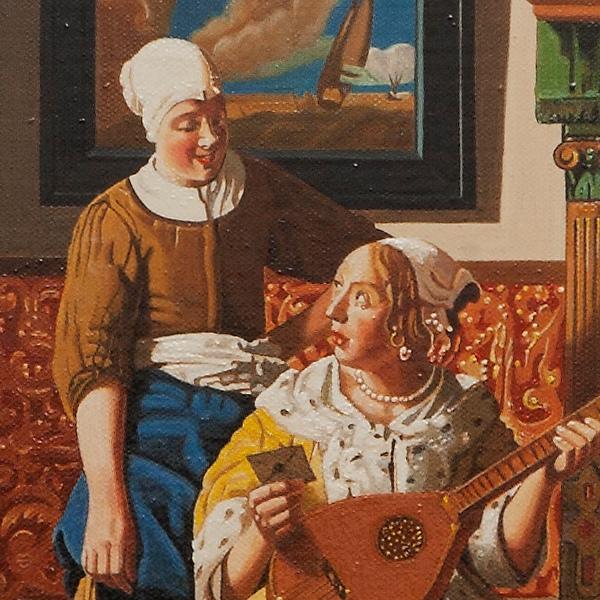The love letter - Lettera d'amore - cm 46x40