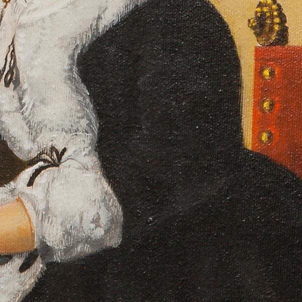 Catharina Bolmes - cm 35x32