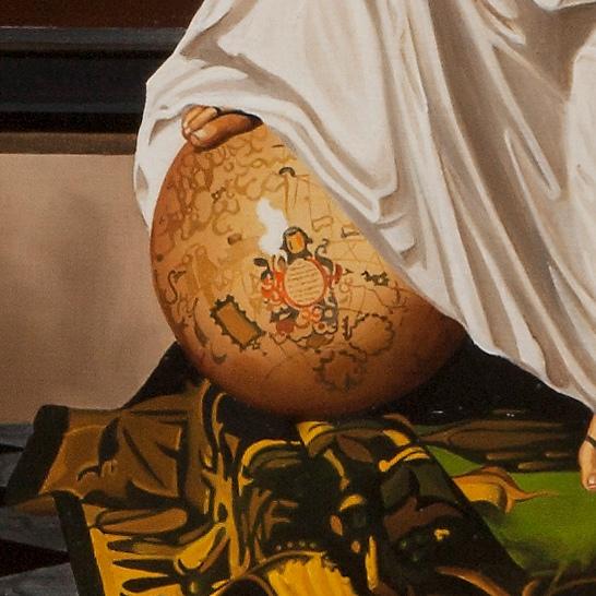 Allegory of faith - Allegoria della fede - cm 118x90