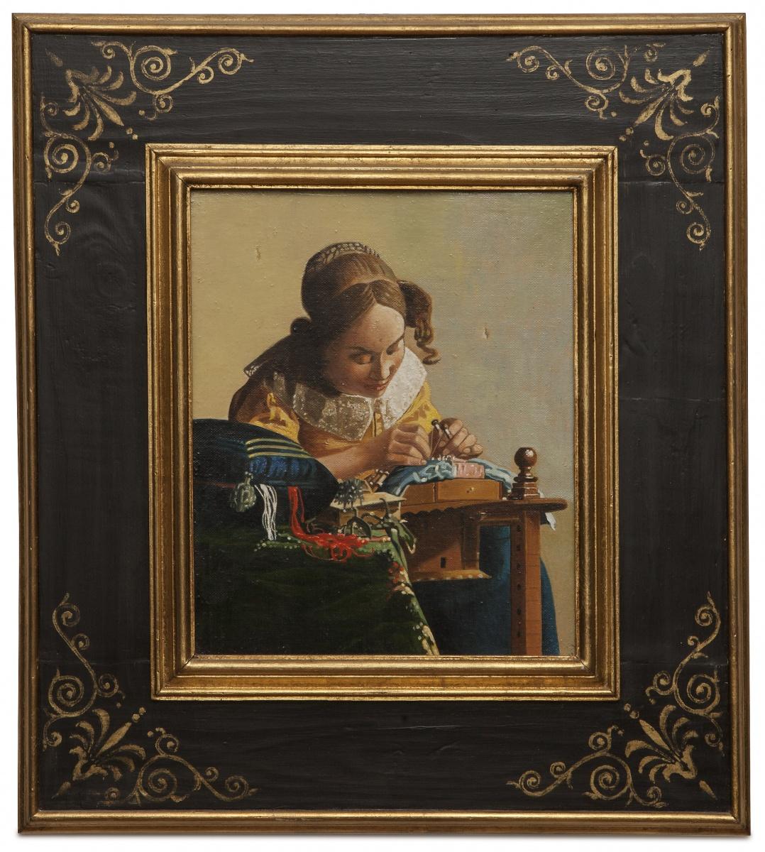 The lacemaker - La merlettaia - cm 27x23