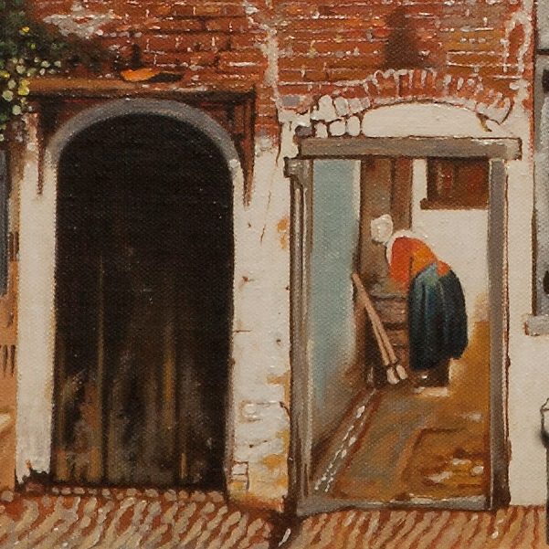 The little street - La stradetta - cm 55x44