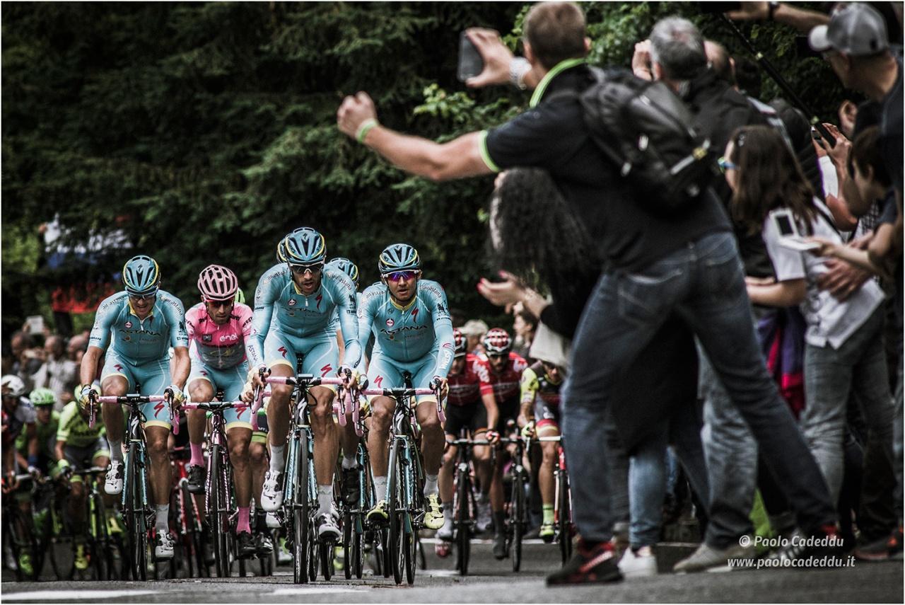 Giro Italia 2016, Nibali in maglia rosa