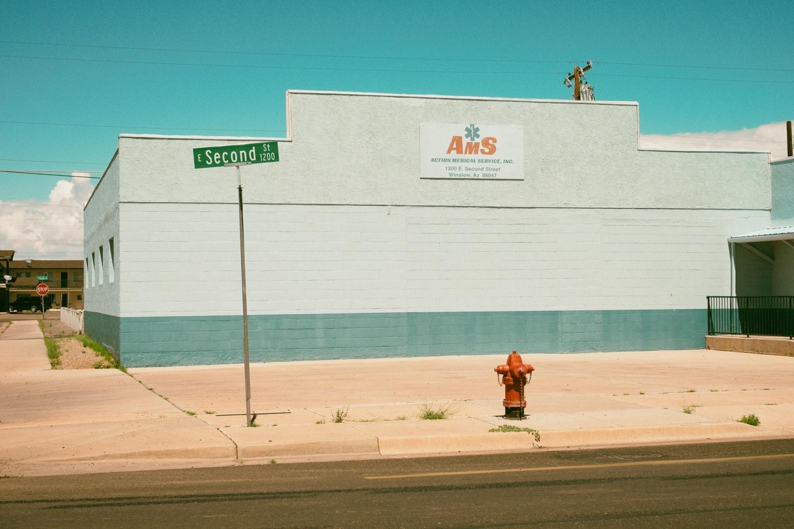 Second street, Winslow Arizona